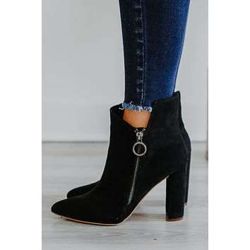 Tay Booties - Black