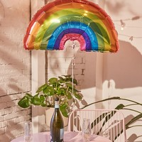 Studio Mucci Foil Rainbow Balloon | Urban Outfitters