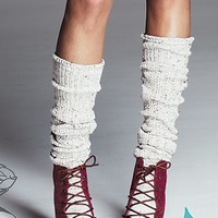 Free People Womens Speckled Slouch Tall Sock