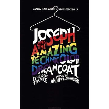 Joseph and the Amazing Technicolor Dreamcoat 11x17 Broadway Show Poster