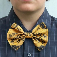 Mysterious Ouija Board Bow Tie bowtie Goth from Poppy's Garden Gate