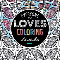 Everyone Loves Coloring Adult Coloring Books - Animals Case Pack 24