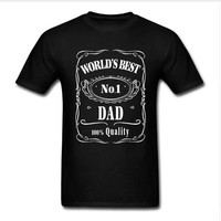 Worlds Best Dad Fathers Day T-Shirt