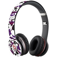 Skull Prince w/Beats on Purple Decal Skin for Beats Solo HD Headphones by Dr. Dre