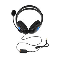 High Quality Wired Gaming Headset Headphones with Microphone for Sony PS4 PlayStation 4