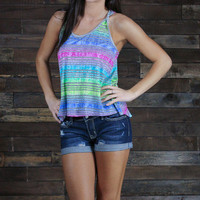 Tailgates and Tan Lines Tank