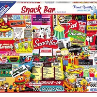 SNACK BAR - 1000 Piece Jigsaw Puzzle