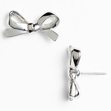 Women's kate spade new york 'skinny mini' bow stud earrings