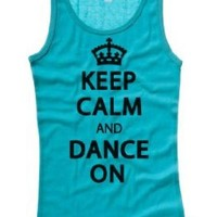 Juniors Just Keep Calm And Dance On Tank