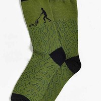 Mowing Grass Sock