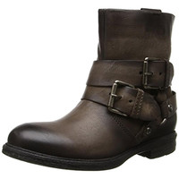 MJUS Womens Demaris Leather Harness Ankle Boots