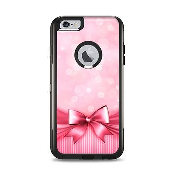 The Magical Pink Bow Apple iPhone 6 Plus Otterbox Commuter Case Skin Set