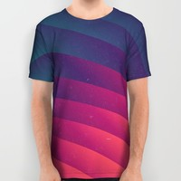 Reservoir Lines All Over Print Shirt by Danny Ivan