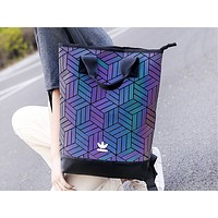 ADIDAS fashion hot seller gradient patchwork casual lady shopping shoulder bag #2