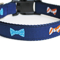 Bow Ties Dog Collar for Small Dogs