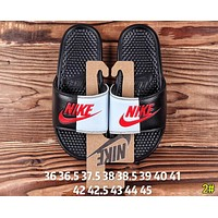 Nike Summer Newest Popular Woman Men Casual Color Matching Couple Sandals Slipper Shoes 2#