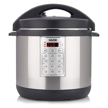 Zavor Select 6Qt Electric Pressure Cooker & Rice Cooker Brushed Stainless Steel