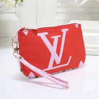 LV Louis Vuitton Popular Women Monogram Small Bag Coin Bag Key Bag