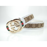 Guziger belt men's and women's fashion style personality versatile belt