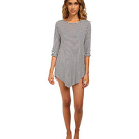 Splendid The Blues Too Tunic Cover-Up Navy - 6pm.com