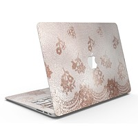 Rose Gold Lace Pattern 3 - MacBook Air Skin Kit