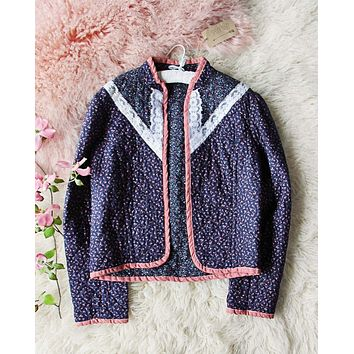 Vintage 70's Quilted Jacket