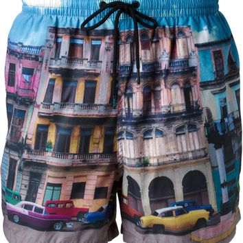 Paul Smith Swimwear photographic print swim shorts