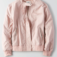 AEO Bomber Jacket , Blush