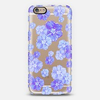 Blossoms Blue - Transparent/Clear Background iPhone 6 case by Lisa Argyropoulos   Casetify