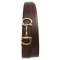 Tagre™ Men's Salvatore Ferragamo Reversible Calfskin Leather Belt