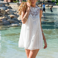 PRE ORDER - HAMPTON LACE DRESS (Expected Delivery 3rd December, 2014) , DRESSES, TOPS, BOTTOMS, JACKETS & JUMPERS, ACCESSORIES, $10 SPRING SALE, PRE ORDER, NEW ARRIVALS, PLAYSUIT, GIFT VOUCHER, $30 AND UNDER SALE,,White Australia, Queensland, Brisbane