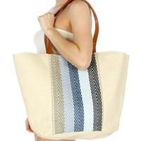 Extra Large and Awesome Woven Tote