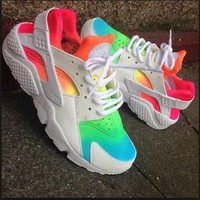 Best Online Sale Nike Air Huarache 1 Multicolor Men Women Hurache Running Sport Casual Shoes Sneakers - 11