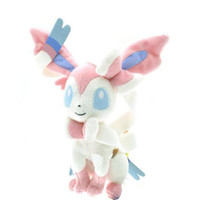 "New Pokemon 10"" Sylveon Rare Soft Plush Toy Doll free shipping"