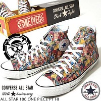 Converse All Star 100 One Piece high-top canvas personalized fashion casual wild shoes