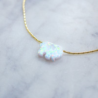 White Ella Necklace