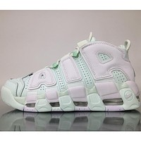 Nike Air More Uptempo tide brand trendy casual sneakers F Mint Green