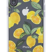Sonix Lemon Zest iPhone X Case | Nordstrom