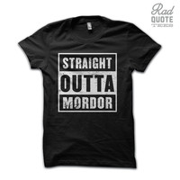 Straight Outta Mordor Shirt