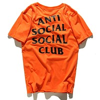 Trendsetter Anti Social Social Club Women Men Fashion Casual Shirt Top Tee