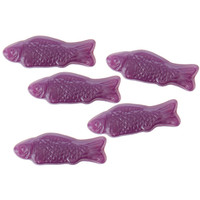 American Fish Chewy Candy - Purple: 5LB Bag