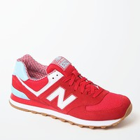 New Balance Picnic 574 Collection Running Sneakers - Womens Shoes - Red