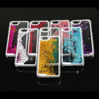 Dynamic Liquid Glitter iPhone 5C Cover Case New Clear Cellphone Back