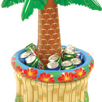 Inflatable Palm Tree Table Cooler