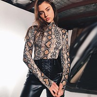 Women's Fashion Hot Sale Long Sleeve Ladies One-piece [73418539034]