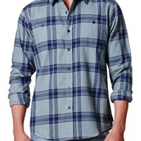 Ezekiel Hunting Flannel Shirt - Mens Shirts - Blue