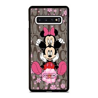 COACH MICKEY MINNIE Samsung Galaxy Case