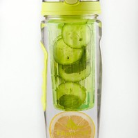 Infuser Water Bottle 32 Oz Leak-proof Large Drinking Spout Best Premium Bpa-free Tritan - Make Your Own Natural Healthy Fruit + Veggie + Herbs Refreshing Infused Water by InfuseFruit