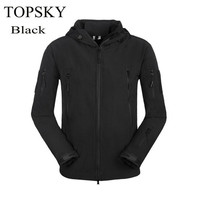 Lady/Men's Hiking Coat Lurker Shark Skin Soft Shell Outdoor Military Waterproof Windproof Black Warm Tactical Camping Jacket 6 Colors