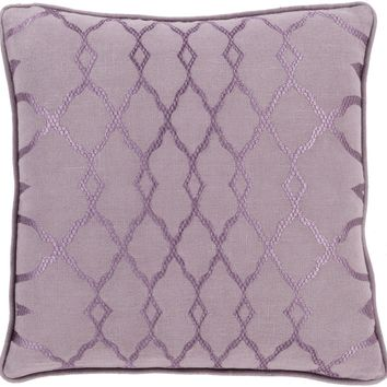 Lydia Throw Pillow Purple